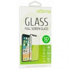 Защитное стекло для Samsung A720 5D Золотой