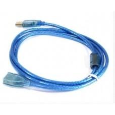 Кабель удлинитель USB 0.5 метра Синий