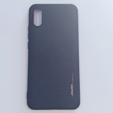 Бампер для Xiaomi Redmi 9А Smith Черный