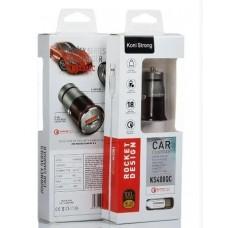 Автомобильное зарядное устройство Koni Strong KS400QC Type C Черный