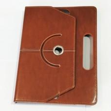 Чохол-книжка для планшета 9-10 дюймів з поворотом Коричневий