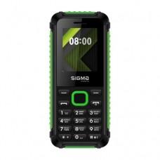 Мобильный телефон Sigma X-style 18 Track Black+Green