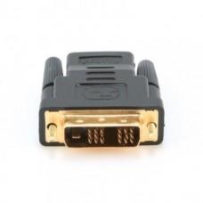 Переходник-адаптер DVI папа-HDMI мама Черный