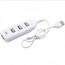 USB HUB 4 в 1 USB Білий
