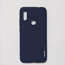 Бампер для Xiaomi Redmi 7 Smit Синий