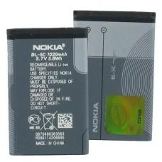 Аккумулятор Nokia bl-5c (high copy) Черный