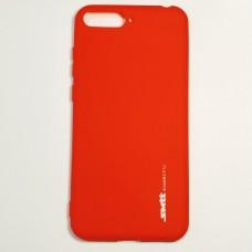 Бампер для Huawei Y6 2018 Smit Красный
