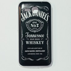 Бампер для Huawei Y600 Jack Daniels  Черный