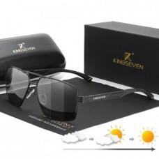 Фотохромні окуляри KINGSEVEN 7719 з футляром Чорний