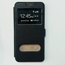 Чехол-книжка для Huawei P20 Lite с теснением Черный