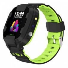 Смарт годинник Y88 GPS+WiFi IP67 Чорний+Зелений