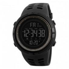 Спортивные часы Skmei 1251 Черный+Коричневый