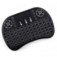 Клавиатура Rii mini i8 с подсветкой и Английским языком Черный