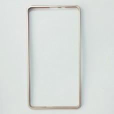 Металическая защитная рамка для Samsung A720 Золотой