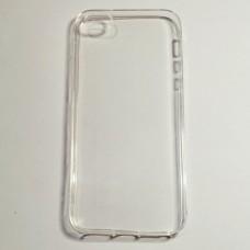 Бампер для iPhone 5/5S/5SE силиконовый Прозрачный
