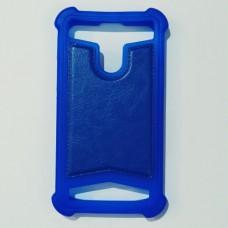 Бампер универсальный 3.5-4.0 дюйма Синий