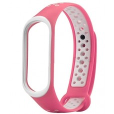 Ремешок для фитнес браслета Mi Band 3 и Mi Band 4 Розовый