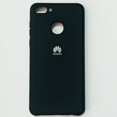 Бампер для Huawei Y9 2018 с пылеулавливателем Черный
