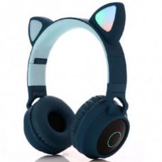 Навушники Bluetooth CATear VZV-850M LED вуха Синій