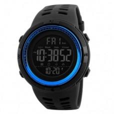 Спортивний годинник Skmei 1251 Чорний+Синій
