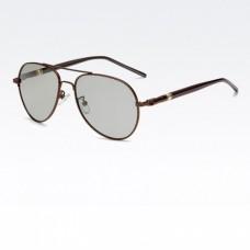 """Фотохромные поляризованные очки """"Капли"""", """"Авиатор"""" YJ-079 Бронзовый"""