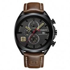 Кварцевые часы Curren 8324 Черный