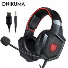 Наушники для ПК с микрофоном Onikuma K8 Черный