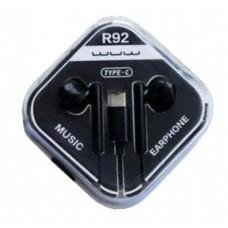 Навушники WUW R92 Type-C Чорний