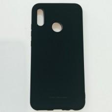 Бампер для Huawei P Smart/ Honor 10 Lite Soft Touch Черный