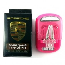 Универсальное зарядное устройство Pink Porshe Розовый