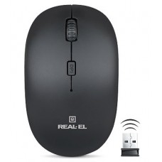 Беспроводная компьютерная мышь Real RM-301 Черный