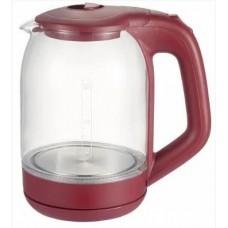 Стеклянный электрический чайник Grunhelm EKP-1801 Прозрачный