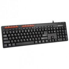 Компьютерная клавиатура проводная Meetion MT-K600M Черный