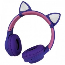 Навушники Bluetooth CATear VZV-850M LED вуха Фіолетовий