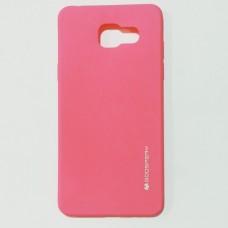Бампер для Samsung A510 Розовый