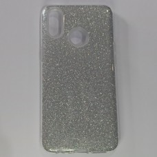 Бампер для Samsung A10S/A107 Сріблястий
