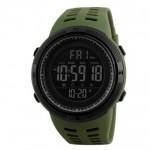 Спортивные часы Skmei 1155B Зеленый+Черный