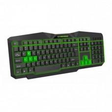 Клавіатура USB з підсвічуванням Esperanza EGK201 Зелений