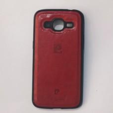 Бампер для Samsung j210 Червоний