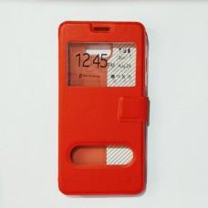 Чехол-книжка для Samsung A720 Красный