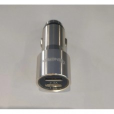 Автомобильное зарядное устройство Energy CA-03 2.4А Серебристый