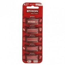Батарейка 27А ETRON 12V