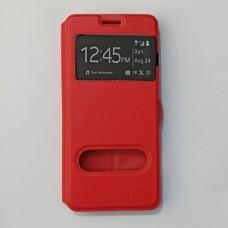 Чехол-книжка для Samsung A8 2018 Красный