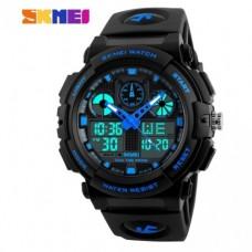 Спортивные часы Skmei S Shock Черно-синий