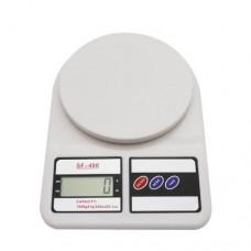 Ваги кухонні SF-400 до 10 кг. Білий