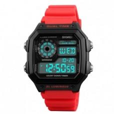 Спортивные электронные часы Skmei 1299 Красный