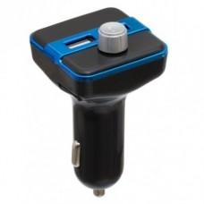 Bluetooth FM модулятор X9 Черный+Синий