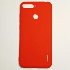 Бампер для Huawei Y6 Prime 2018 Smit Красный