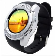 Smart Часы V8 Серебристый