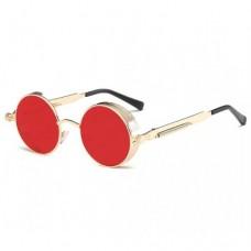 Металлические круглые ретро очки для женщин Molniya Розовый